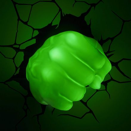 Hulk Fist 3D LED Light Marvel